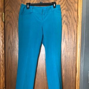 The Limited turquoise drew fit size 8R NWOT